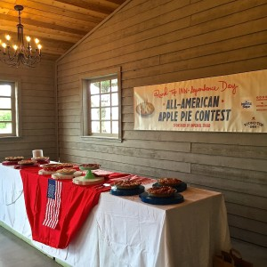 Pie Contest Table