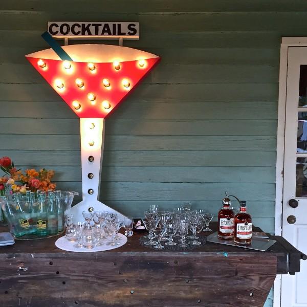 Round Top Inn Cocktails